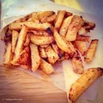 Take rutabaga – an under-served unpopular weird looking root vegetable – and roast it in the oven to make these crisp and tasty Rutabaga Fries