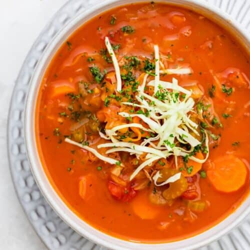 Tomato Cabbage Soup Feelgoodfoodie