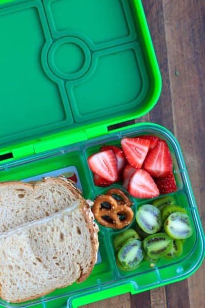 Check out my back to school lunchbox ideas. They all include simple healthy whole foods you can put together quickly - great for pre-school & kindergarten!