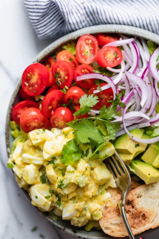 Healthy Egg Salad Easy Quick Feelgoodfoodie