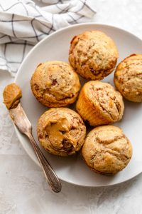 Peanut butter and jelly easy muffin recipe
