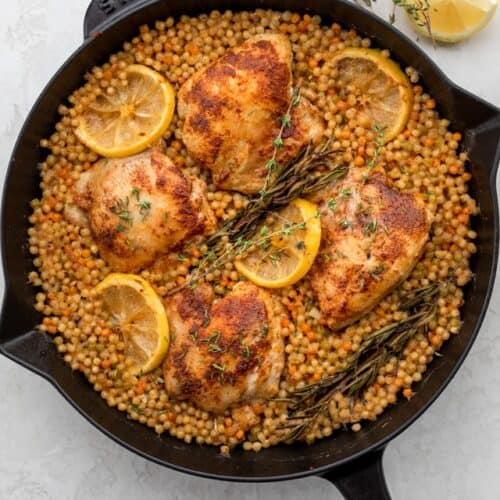 Skillet Chicken With Couscous Feelgoodfoodie