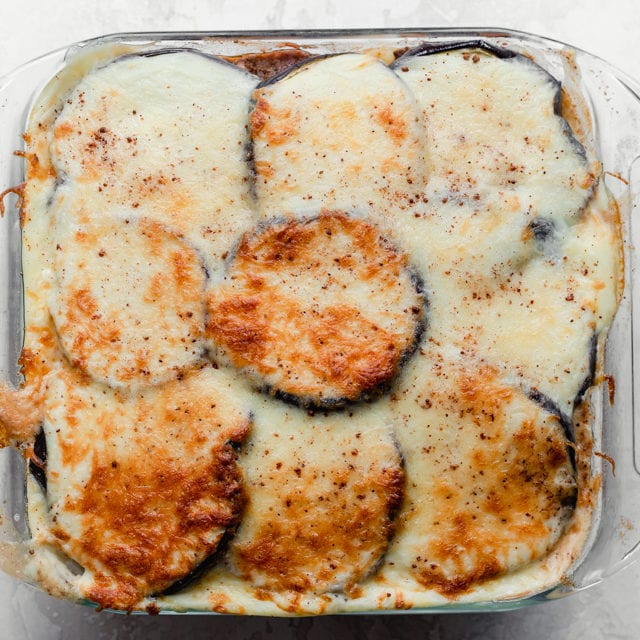 Easy Eggplant Moussaka Feelgoodfoodie