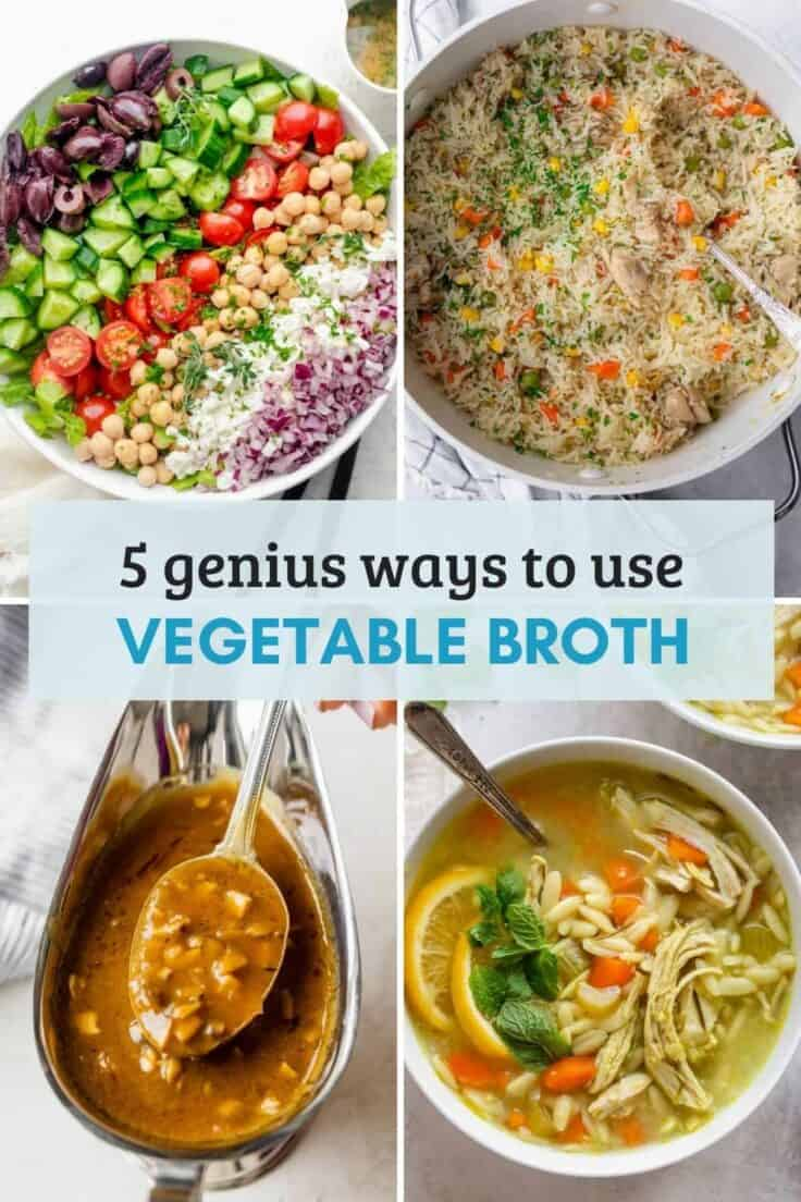 10 recipes with vegetable broth, beyond just soup