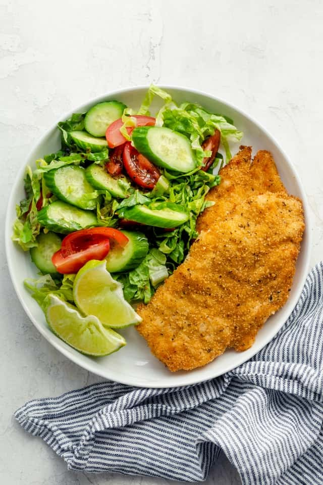 Breaded Air Fryer Chicken Feelgoodfoodie