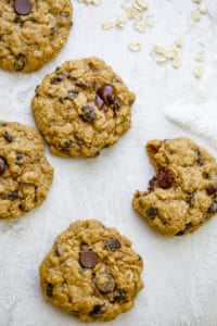 The best oatmeal raisin cookies with chocolate chips