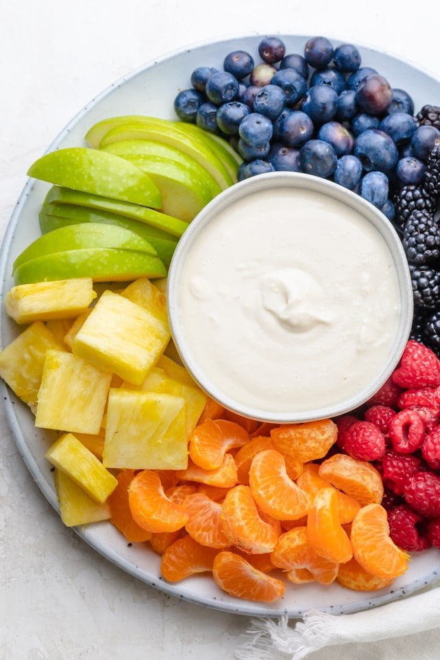 Cream Cheese Fruit Dip Feelgoodfoodie