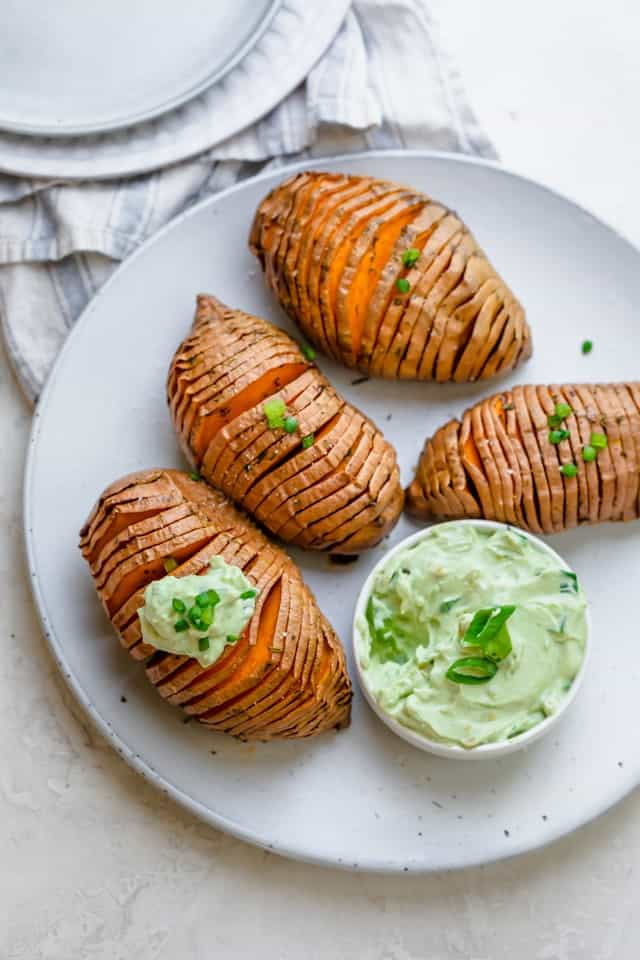 Hasselback Sweet Potatoes Feelgoodfoodie