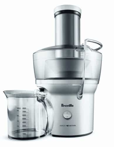 Breville BJE200XL Compact Juice Fountain 700-Watt Juice Extractor / Juicer