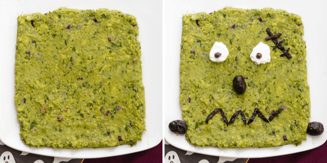 How to make Frankenguac for Halloween