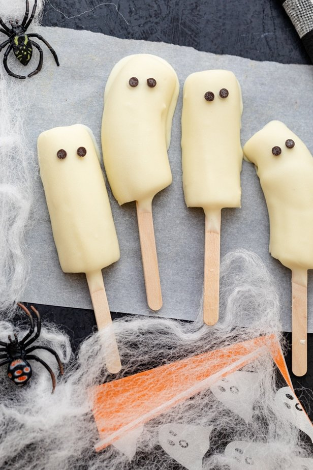 Final Frozen Boo-nana Pops for Halloween