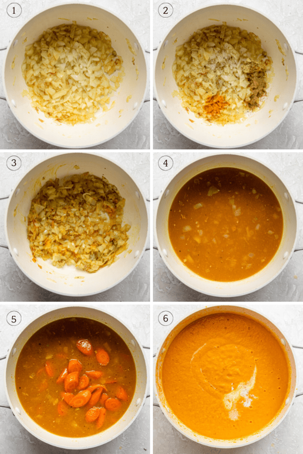 Six photos to show how to make the recipe