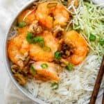 Honey walnut shrimp lightened up recipe