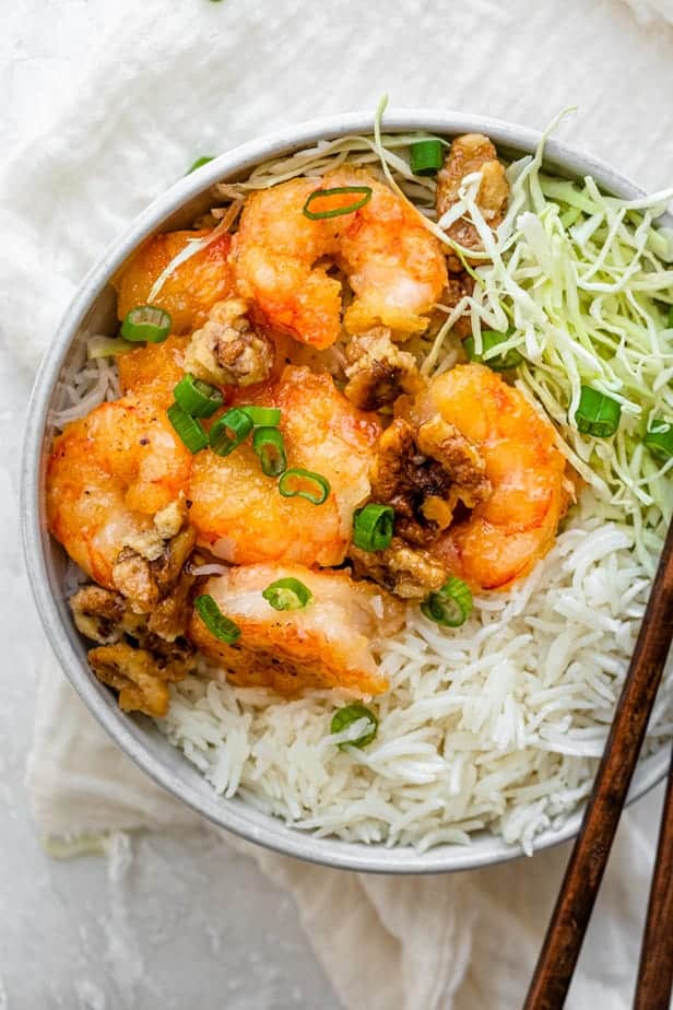 Honey Walnut Shrimp Healthy Version Feelgoodfoodie