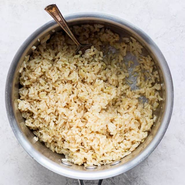 How to Cook Brown Rice {Step-by-Step Tutorial} | FeelGoodFoodie