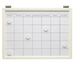 Magnetic Whiteboard Calendar