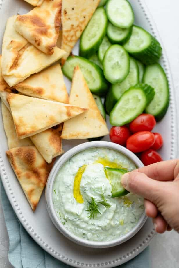 Tzatziki Sauce Recipe 5 Minutes Only Feelgoodfoodie