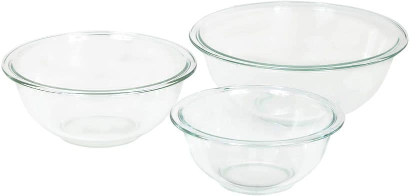 Pyrex 3-Piece Mixing Bowl Set
