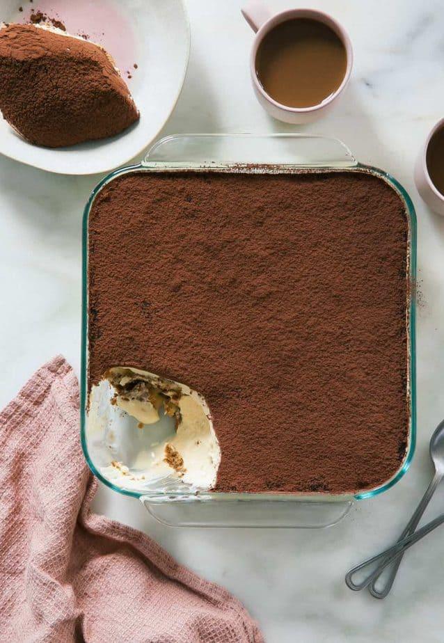 Tiramisu recipe from Cozy Kitchen