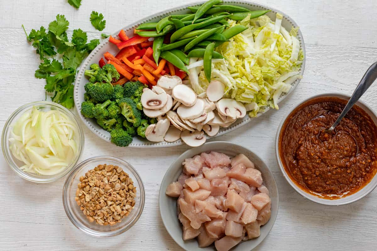Ingredients to make the recipe