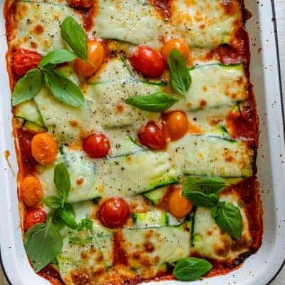 Final zucchini ravioli after cooking