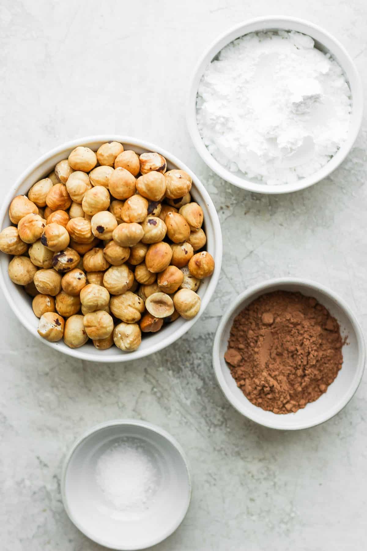 4 ingredients to make the recipe