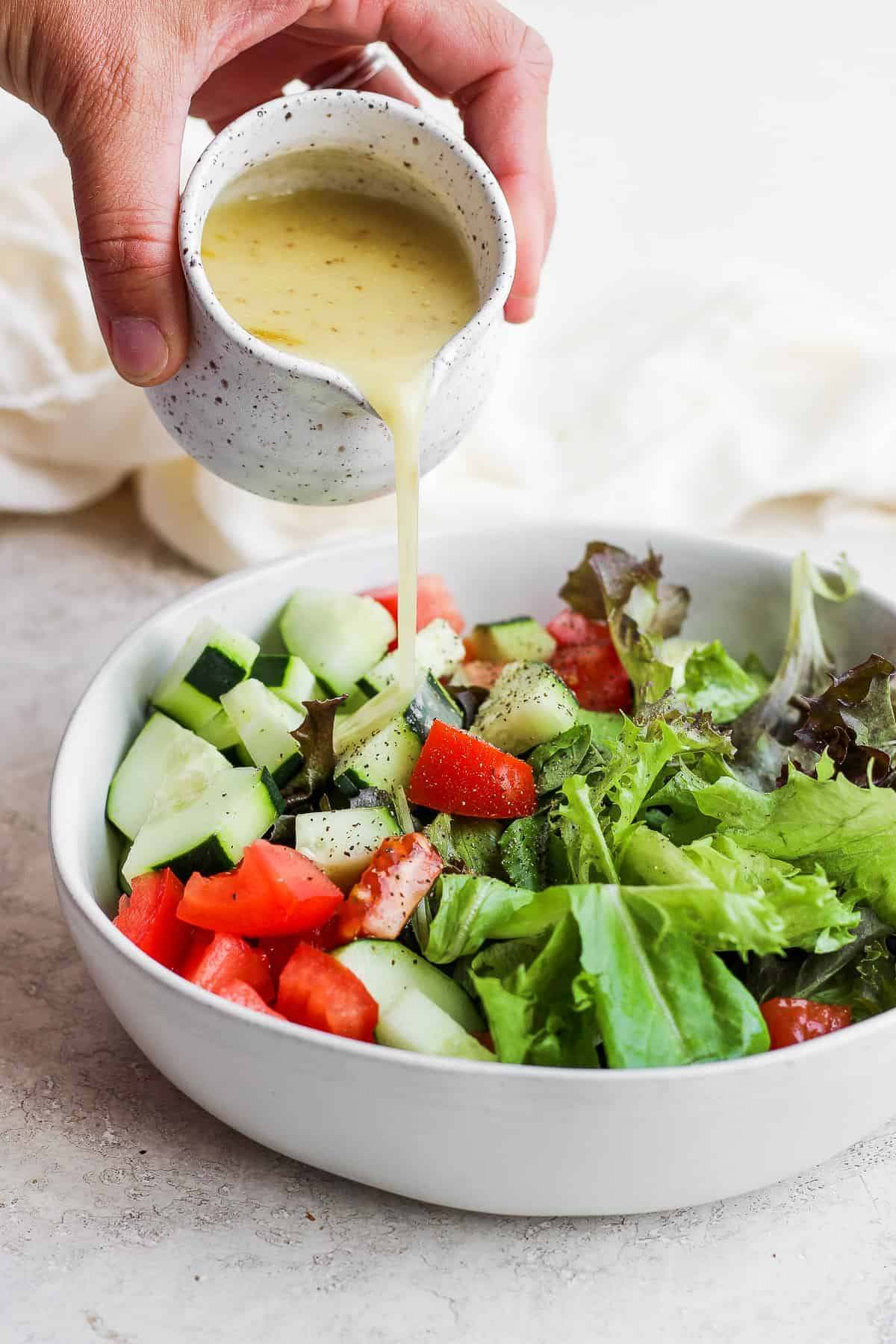 How To Make Salad Dressing 2 Methods Feelgoodfoodie