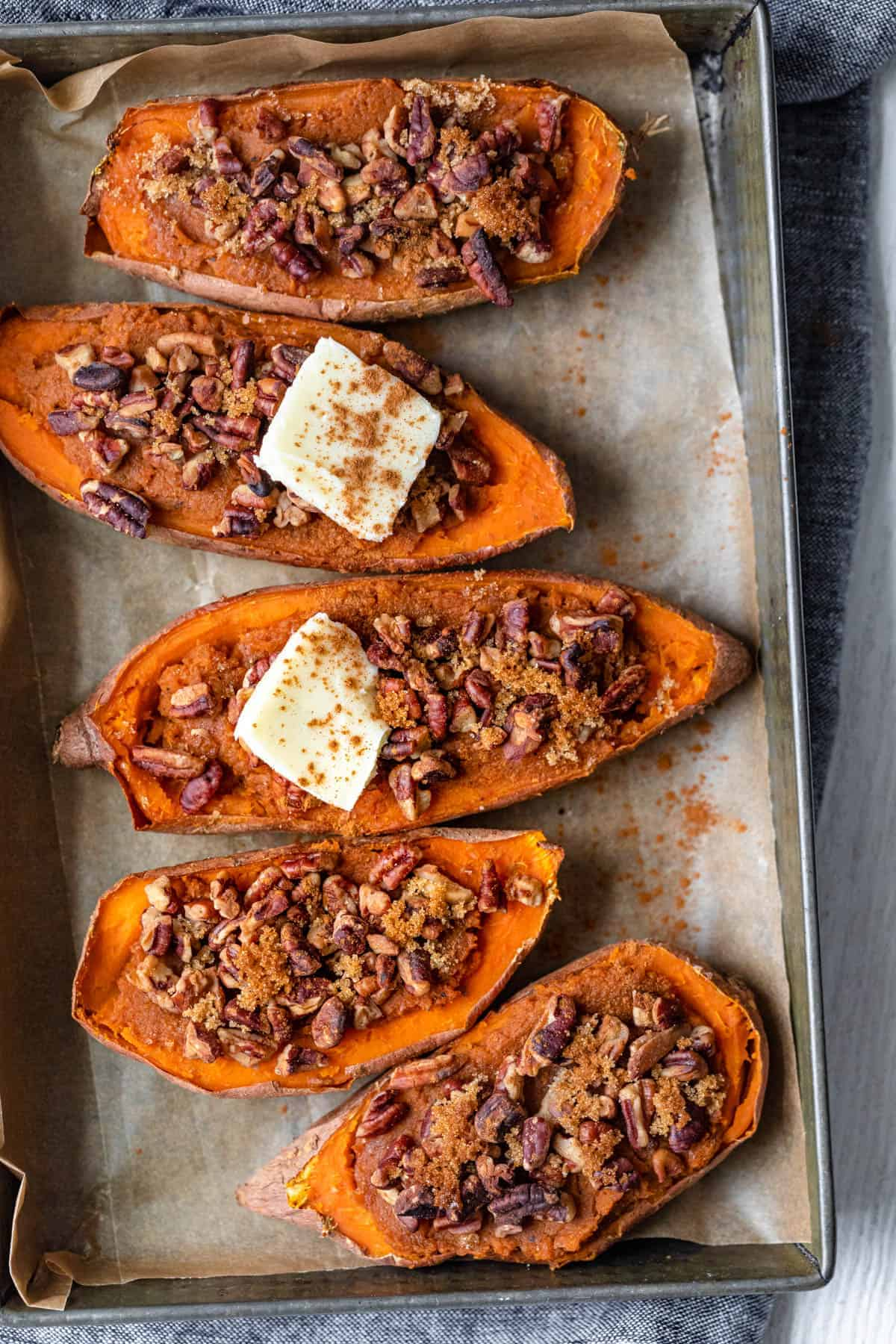 Twice Baked Sweet Potato Side Dish Recipe Feelgoodfoodie