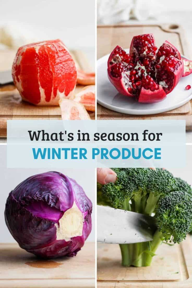 Cover image for Winter Produce Guide