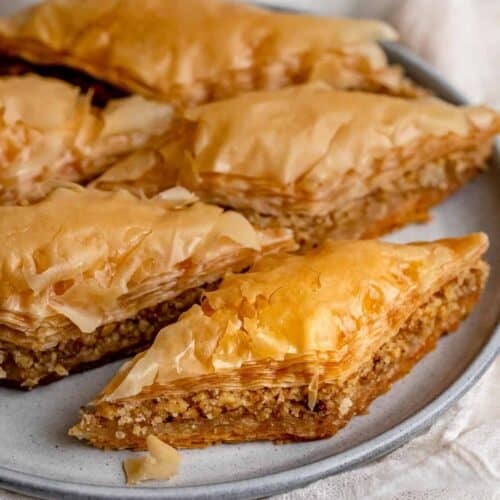 Lebanese Baklava Authentic Easy Recipe Feelgoodfoodie