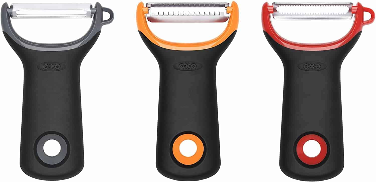 OXO Good Grips 3 Piece Assorted Prep Y-Peeler Set