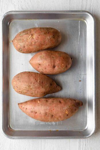 Sweet potatoes versus yams - cover shot photo