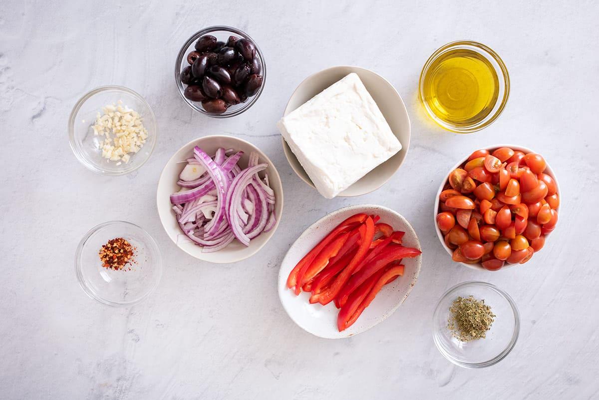 Ingredients to make the recipe