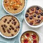 4 Baked oats with protein after baking