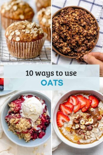 Roundup recipe collection of how to use oats