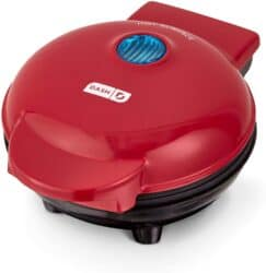 Dash mini waffle maker for making chaffles