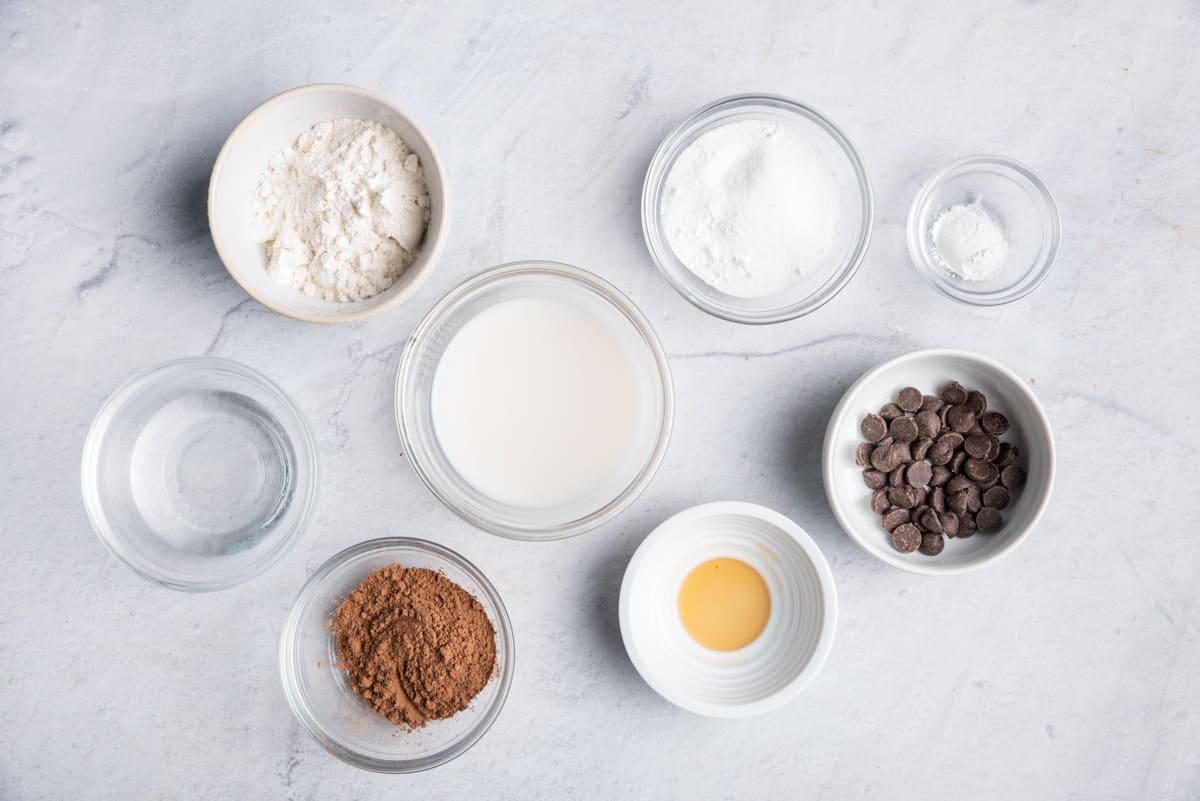 Ingredients needed for the recipe