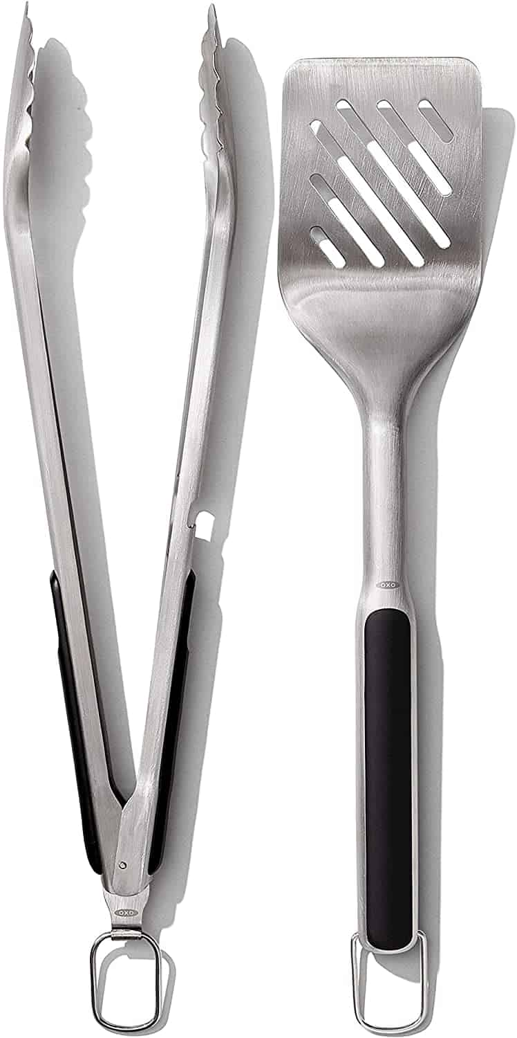 Grilling Tools, Tongs and Turner Set