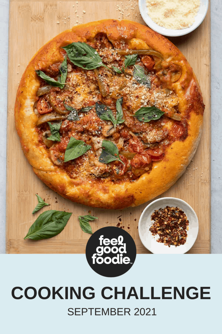 Feel Good Foodie September Cooking Challenge Feature Image