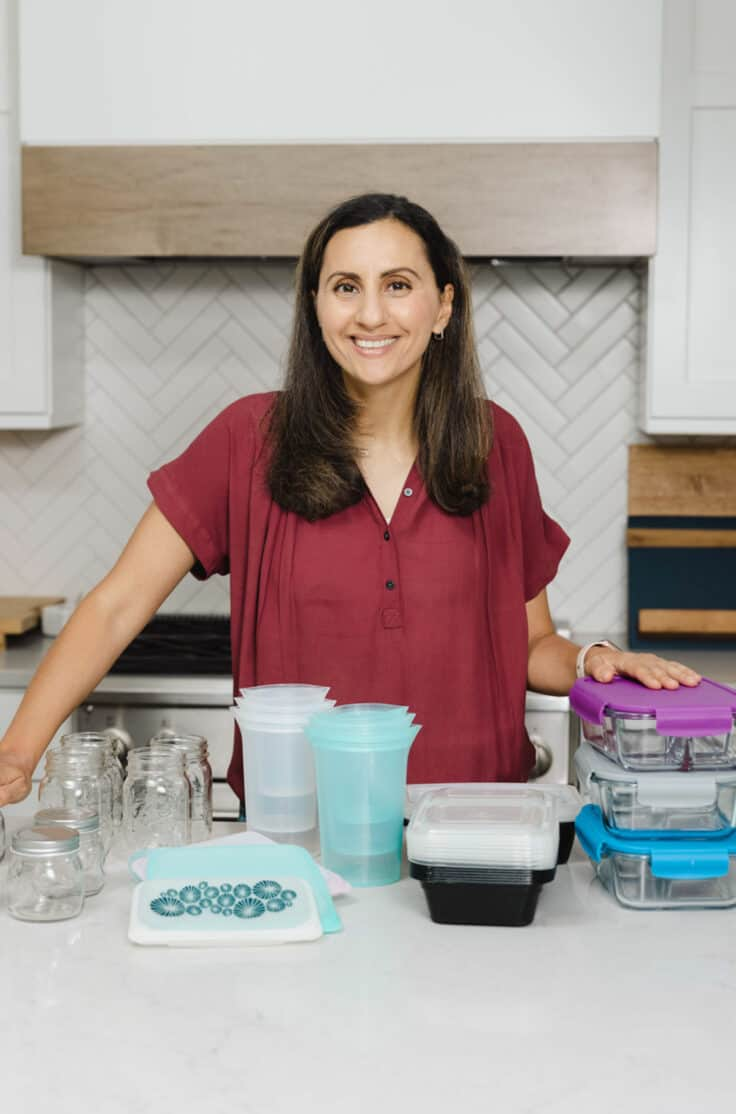 Featured imaged for how to meal prep with Yumna