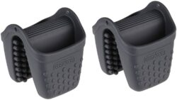 Dexas Micromitt Silicone Oven Mitt, Set of Two, Gray