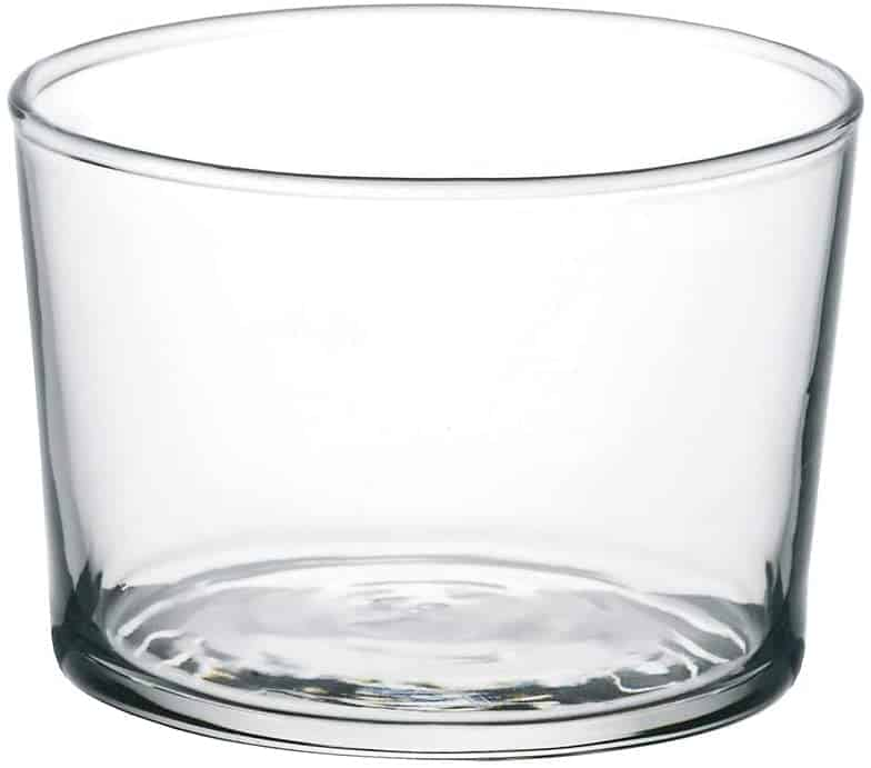 Bormioli Rocco Essential Decor Glassware – Set Of 12 Mini 7.5 Ounce Drinking Glasses For Water, Beverages ,Cocktails & Candle Holders